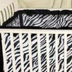 <strong>Zebra Baby Crib Bumper</strong> by Sin In Linen