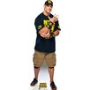 <strong>Advanced Graphics</strong> WWE John Cena Navy and Gold Shirt Cardboard Stand-Up