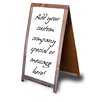 Advanced Graphics Generic Sandwich Board Cardboard Standup