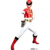 Advanced Graphics Red - Power Rangers Megaforce Cardboard Stand-Up