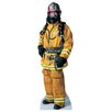 <strong>Advanced Graphics</strong> Modern Heroes Firefighter Life-Size Cardboard Stand-Up