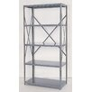 "<strong>Industrial Clip Open 85"" H 5 Shelf Shelving Unit Starter</strong> by Republic"
