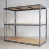 "<strong>Republic</strong> Rivet Wedge-Lock Bulk 84"" H 2 Shelf Shelving Unit Starter"