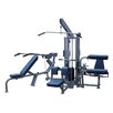 <strong>Quantum Fitness</strong> Q-400 Series Multi-Station Commercial 4 Stack Home Gym Set