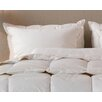 Down Inc. Organic Cotton Sleeping Pillow with Feather Core and Down Surround