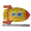 Rocket Cuddling Cushion Q Toys