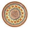 "<strong>Euroquest Imports Polish Pottery</strong> Pattern DU70 7"" Appetizer / Dessert Plate"