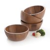 Woodard & Charles Acacia Salad Bowl (Set of 4)