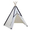 "<strong>Hideaway 72"" Pocket 5 Panel Teepee</strong> by Dexton Kids"
