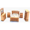<strong>Annie's Dolls House 5 Piece Bedroom Set in Light Wood</strong> by Annie's Dolls House