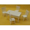 <strong>5 Piece Dining Set</strong> by Annie's Dolls House