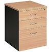 <strong>Mobile Pedestal with 2 Drawer / 1 File Filling Cabinet</strong> by Cooper Furniture