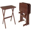 <strong>Rectangular Tray Table (Set of 4)</strong> by Manchester Wood