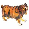 Bulldog Glass Figurine Kenjasper