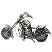 <strong>Kenjasper</strong> Chrome Plated Chopper Motorcycle Figurine 2