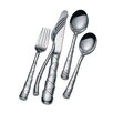 <strong>Lunt Silver</strong> Stainless Flatware 5 Piece Captiva Set