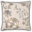 Eastern Accents Edith Pleated Ribbon Accent Pillow