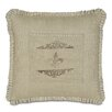 Eastern Accents French Country Coffee Fleur de Lis Pillow