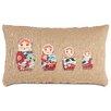 Eastern Accents Folkloric Matryoshka Pillow