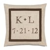 Eastern Accents Wedding Power of Love Pillow