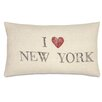 Eastern Accents Passport I Love New York Pillow