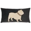Eastern Accents Pets Bulldog with Collar Pillow