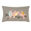 Eastern Accents Wild Things Flock Together Pillow
