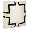 Eastern Accents Black Tie Pillow