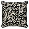 Eastern Accents Black Zebra Stripe Pillow