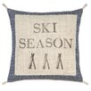 Eastern Accents Ski Lodge Season Pillow