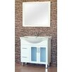P Series 90cm Semi Recessed Vanity with Legs Ostar