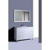 <strong>QL Series 120cm Shadow Line Slim China Top Vanity with Legs</strong> by Ostar