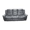 <strong>Alan Lounge Sofa Bonded Leather Recliner 3 Seater</strong> by Melbournians Furniture