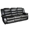 <strong>Dream Lounge Sofa Bonded Leather Recliner 3 Seater</strong> by Melbournians Furniture