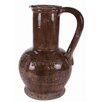 Rustic Urn with Handle in Brown Casa Uno