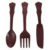 <strong>Ornate Wall Cutlery (Set of 3)</strong> by Casa Uno