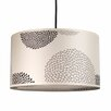 Lights Up! Meridian 1 Light Medium Drum Pendant