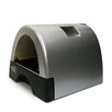 Kittyagogo Designer Cat Litter Box with Metallic Cover