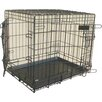 <strong>Bono Fido</strong> Dog Collapsible Crate ABS Tray in Black