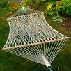 Algoma Net Company Chambers Island 2-Point Cotton Rope Double Hammock