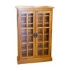 <strong>Media Storage Cabinet in Solid Oak Timber</strong> by The Import Depot