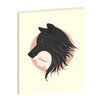 Ayarti Boy Cries Wolf Framed Canvas Print Artist Lane