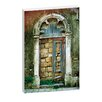 <strong>Joe Vittorio Doors of Italy: Giardino Framed Canvas Print</strong> by Artist Lane