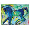 <strong>Anthony Syndicas Horse Framed Canvas Print</strong> by Artist Lane