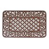 <strong>Rectangle Victorian Doormat in Antique Rust</strong> by Mr Gecko