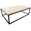Iron Rectangle Coffee Table The Banyan Tree