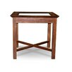 <strong>Texas Side Table with Glass Top</strong> by The Banyan Tree