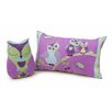 <strong>Hooty Owl Oblong Cushion</strong> by Jiggle Giggle