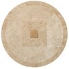 Delphi Round Travertine Table Channel Enterprises