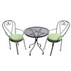 Lille 3 Piece Dining Set Channel Enterprises